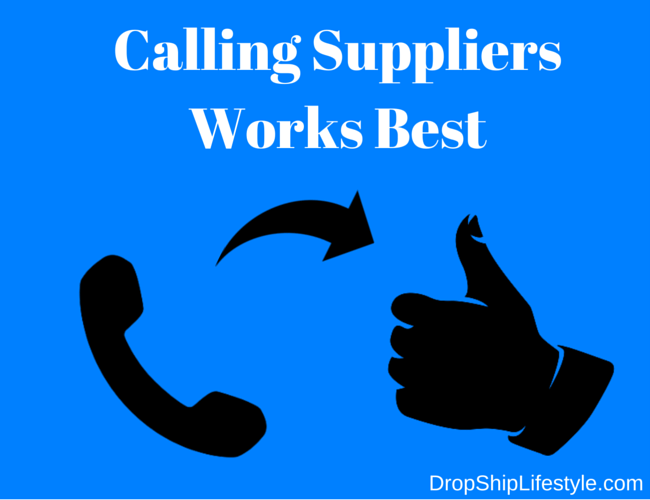 Calling-Suppliers-Works-Best