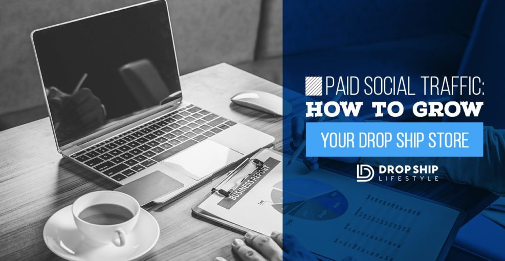 Paid Social Traffic How To Grow Your Drop Ship Store
