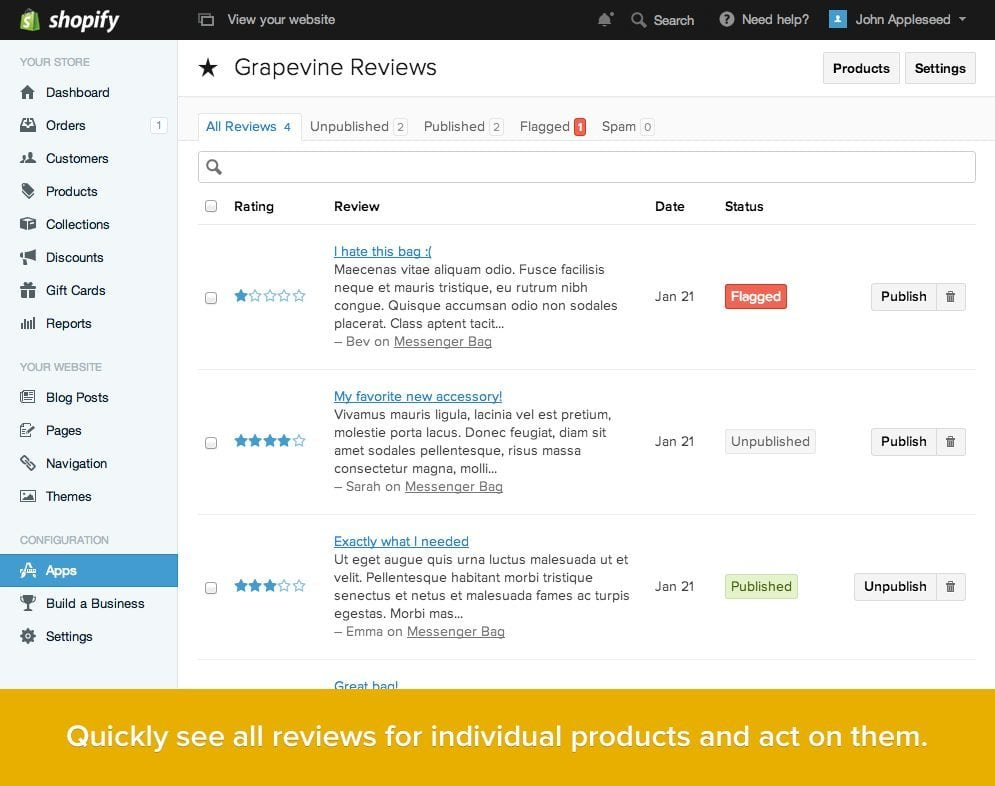 product-review-shopify-app