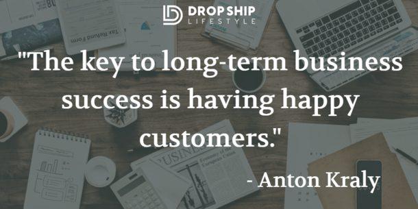 long term business success quote