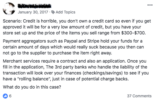 credit cards for business with no credit