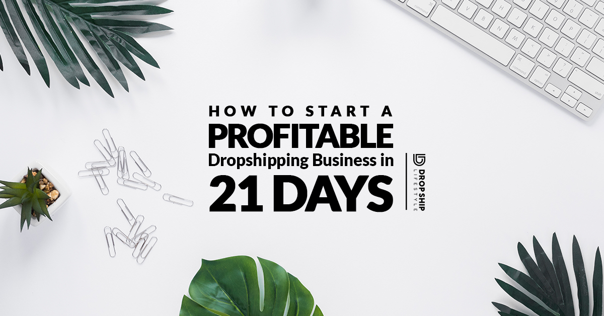 How to Start a Profitable Dropshipping Business in 21 Days
