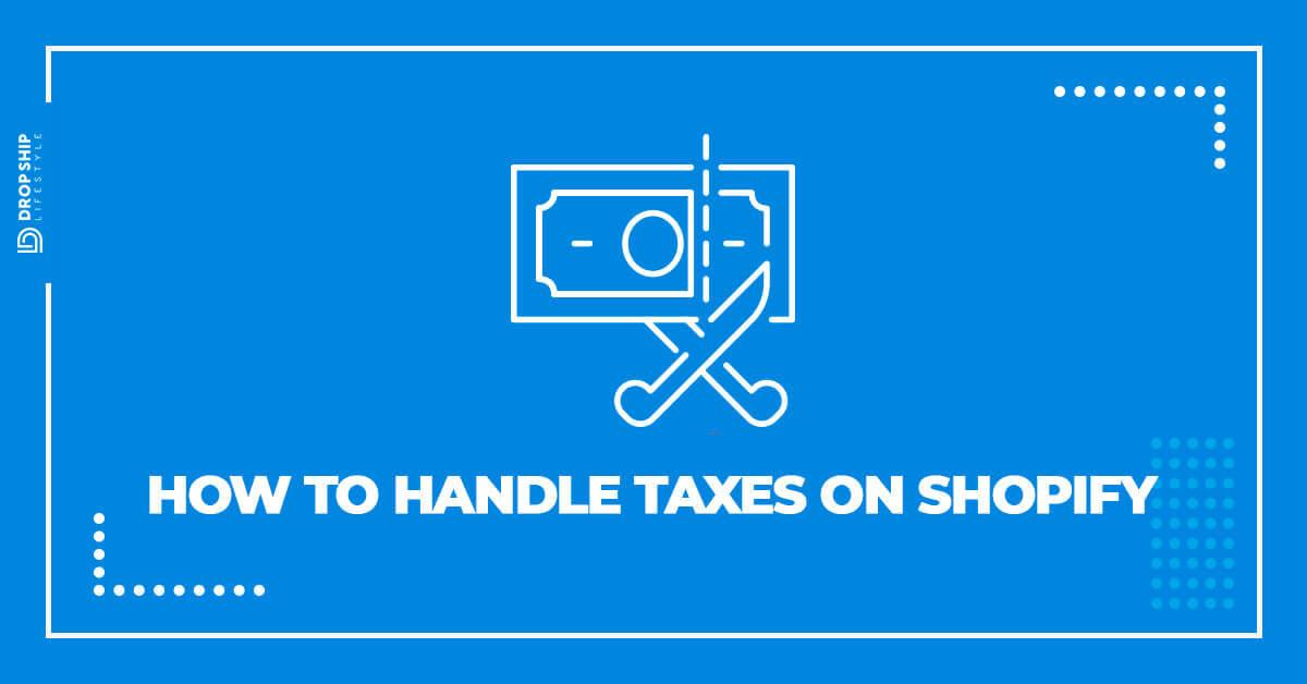 shopify taxes 2019